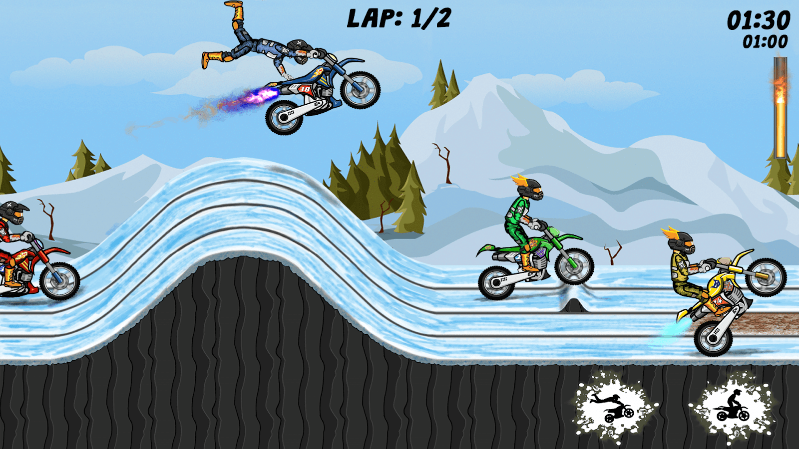 Stunt Extreme - BMX boy- screenshot