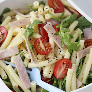 Pasta, Tomato, and Cheese Salad