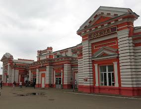 Photo: После похода решил съездить в г. Дмитров. Город основан в 1154 г. Вокзал.