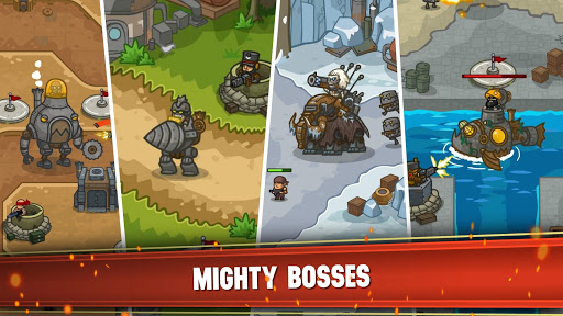 Steampunk Defense: Tower Defense  screenshots 4