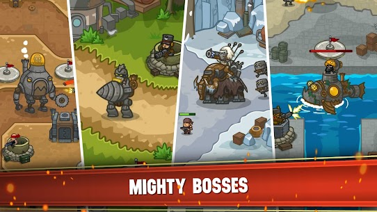 Steampunk Defense: Tower Defense Apk Download For Android and Iphone 4