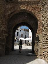 Photo: We enter through an old gate.