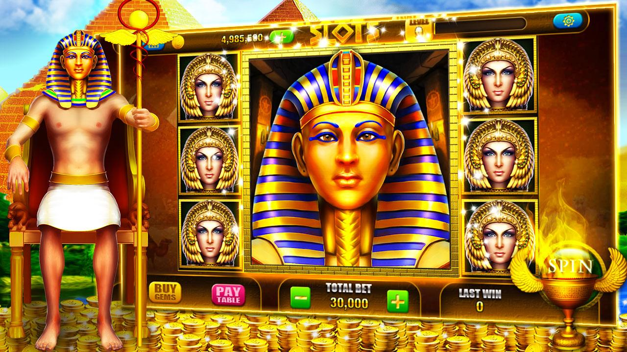 Pharaoh Slot Machine Game