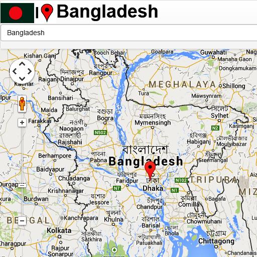 Bangladesh map - Apps on Google Play