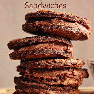Brownie Cookie Sandwiches