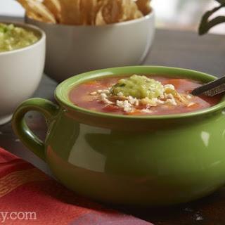 Salsa Chicken Tortilla Soup