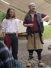 Photo: Der Barde Ranarion und der Lopka Panja.