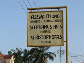 Photo: Asewa 'Otono, compound Fraters van Tilburg