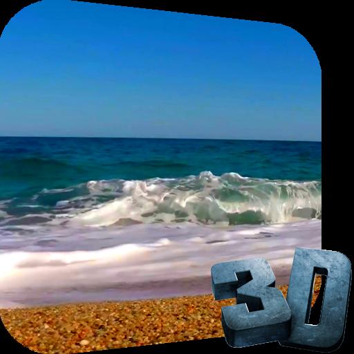 个人化の海のライブビデオ壁紙 LOGO-記事Game