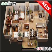 500+ Plans  Home Design 3D icon