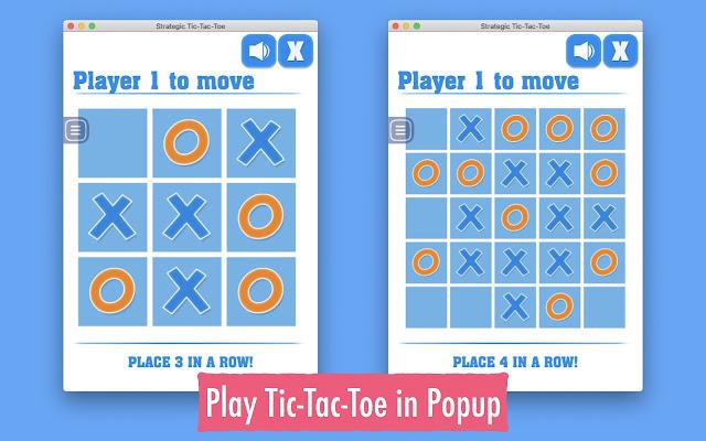 Strategic Tic-Tac-Toe