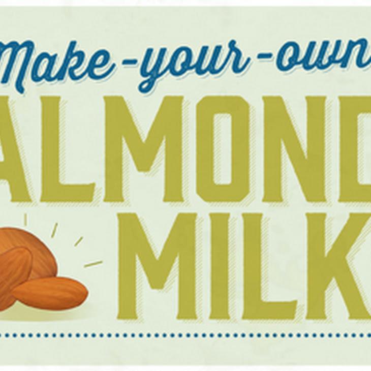 Amazing Homemade Almond Milk Recipe | Yummly