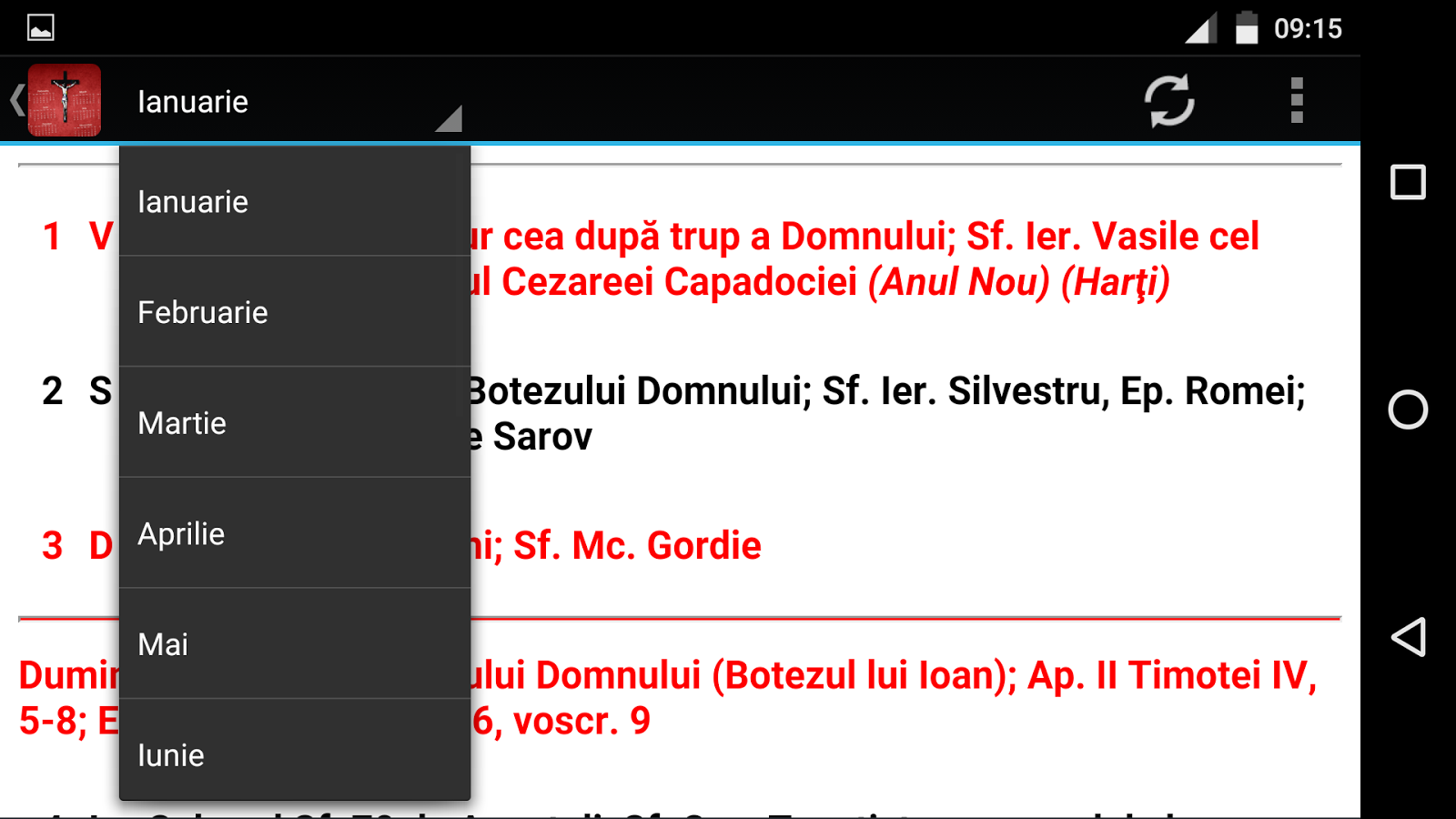 Calendar Ortodox Romania 2016 - Android Apps on Google Play