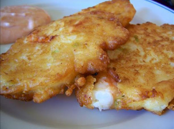 Shrimp And Rice Fritters Recipe