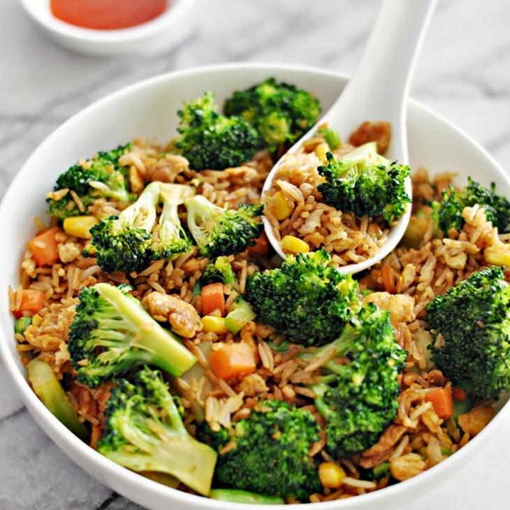 Easy Broccoli & Egg Fried Rice Recipe
