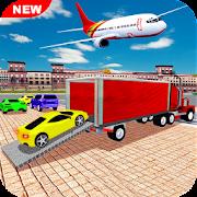 Airplane Car Transport Simulator Drive