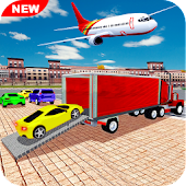 Airplane Car Transport Simulator Drive