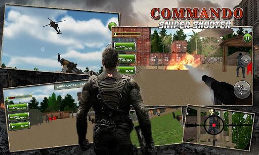 Commando Sniper Shooter 3D War