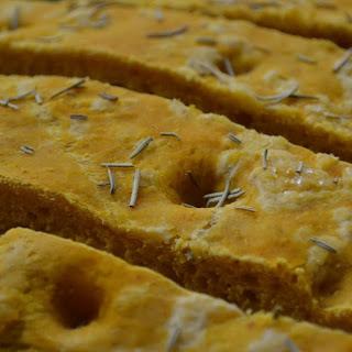 #PumpkinWeek ~ Pumpkin Focaccia Bread