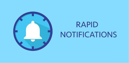 Rapid Notifications Blocker PRO app for Android screenshot