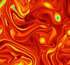 Photo: 3. Chaotic fluid dynamics.  Dr Phil Browne, School of Mathematical and Physical Sciences, University of Reading.  Many computational models are chaotic, meaning that small differences lead to wildly different results. This is famously true of earth's atmosphere and other fluid dynamics problems. In order to test ways to forecast the weather and climate, we often use smaller models with the same properties. This images shows one such model that simulated fluid flowing on a torus. The colours represent the intensity of rotation, and you can see areas which look similar to weather systems such as hurricanes or typhoons that occur in the atmosphere. Areas of intricate detail where the flow has sharp small-scale features are where we concentrate our efforts to ensure they are well represented, in order so that we can make the most reliable predictions. Archer allows us to run multiple high-resolution simulations at once to quantify the uncertainty in our predictions.