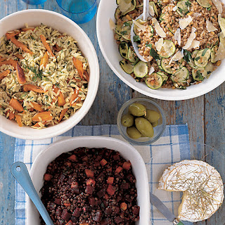 Orzo Salad with Roasted Carrots and Dill Recipe