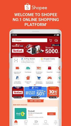 Shopee #1 Online Shopping 2.58.11 screenshots 1