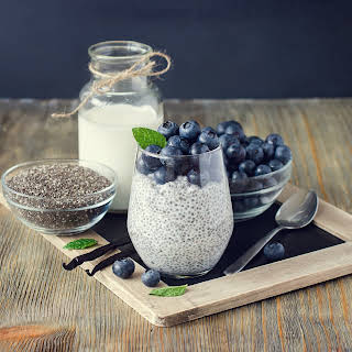 Super Simple Chia Seed Pudding.