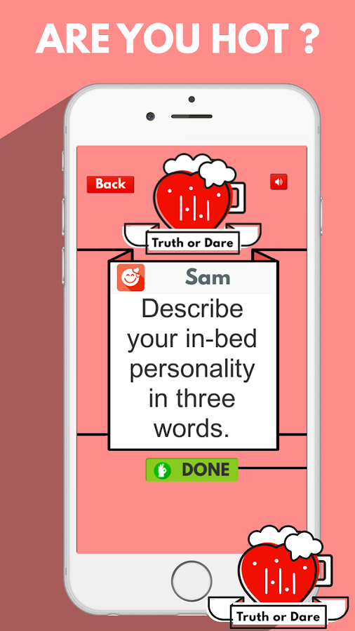 Truth or Dare Party Game- screenshot