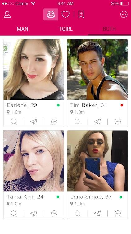 Online dating stránky transgender