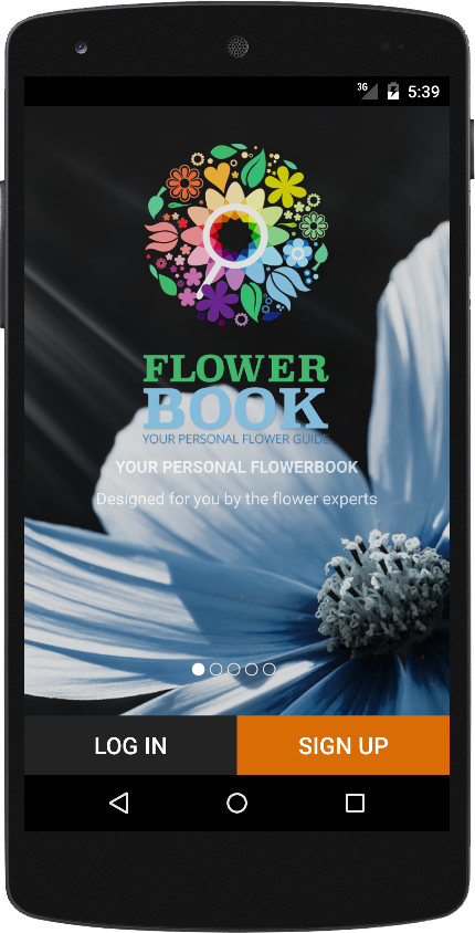 FlowerBook- screenshot