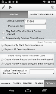 Quick Stock Quotes- screenshot thumbnail