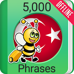 Learn Turkish Phrasebook - 5,000 Phrases