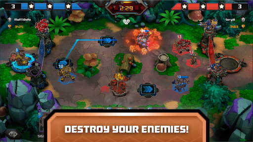 Steel Wars Royale - Multiplayer Strategy Game 0.78 screenshots 12
