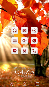 Azer Red - Icon Pack screenshot 0