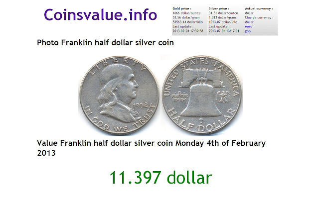 Coins value