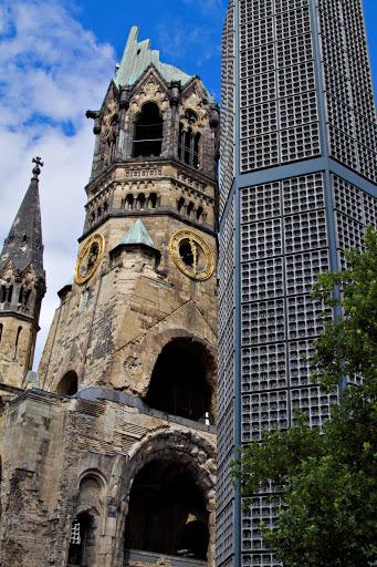 Azamara-Kaiser-Church-Berlin-Germany.jpg - Kaiser Wilhelm Memorial Church in Berlin, Germany.