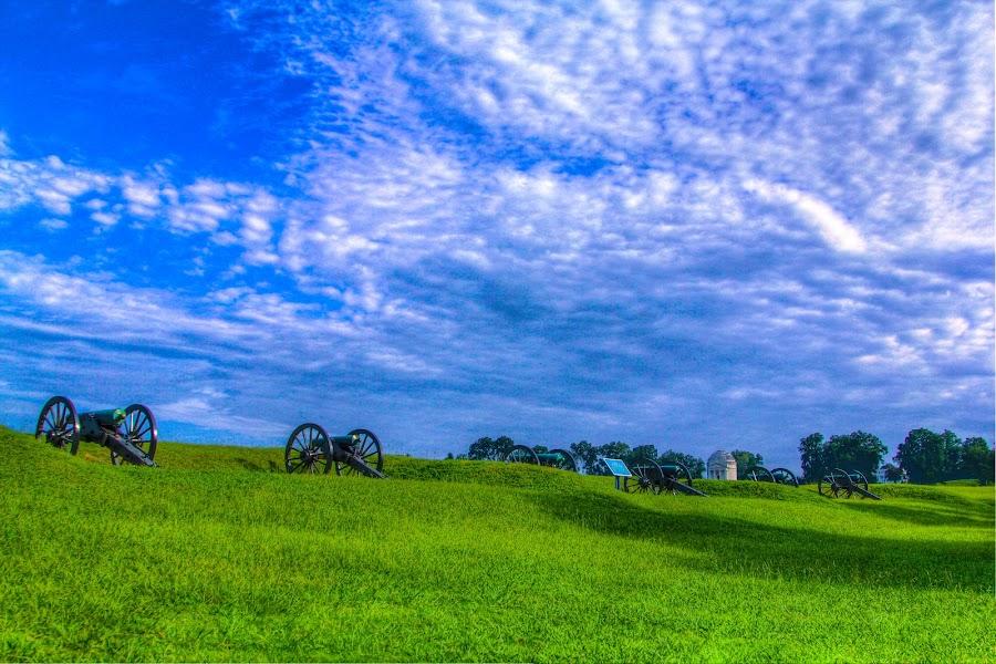 Civil war by Omer Khan - Landscapes Prairies, Meadows & Fields