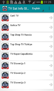 TV Sat Info Slovenia- screenshot thumbnail