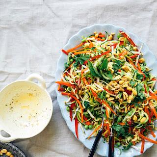 "Laura Wright's Raw ""Pad Thai"" Salad."