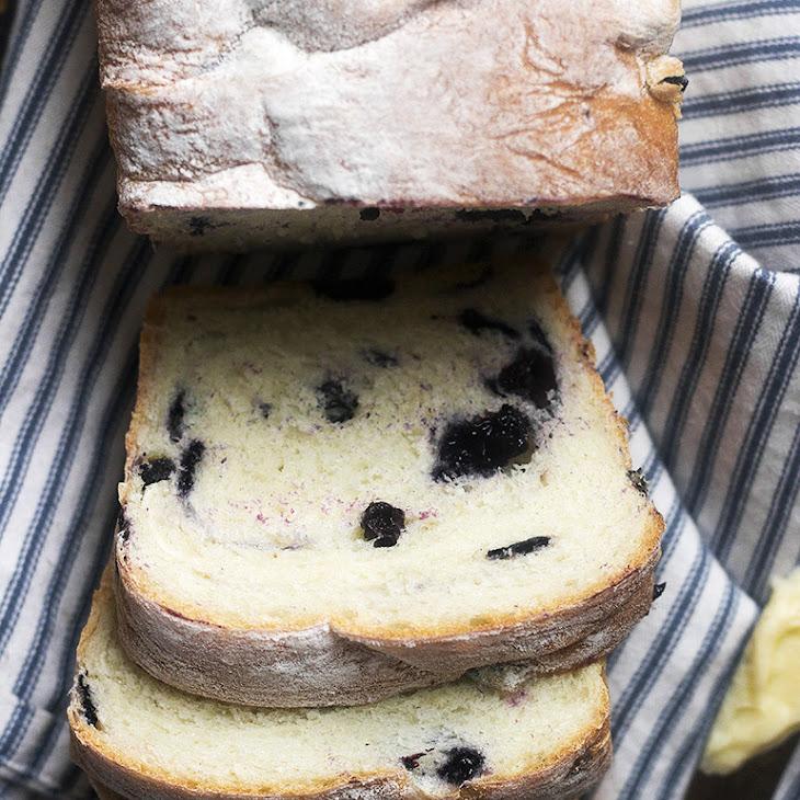 Fresh Blueberry Yeast Bread