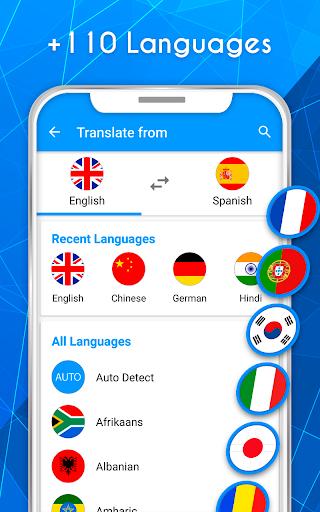 Translate voice - Translator 196.0 screenshots 2