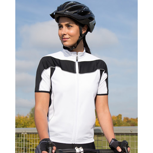 Ladies Bikewear Full Zip Performance Top
