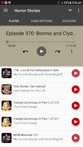 Horror Stories Podcast App Report on Mobile Action - App