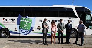 Durán Ejido Futsal presenta el autobús con el que viajará esta temporada.