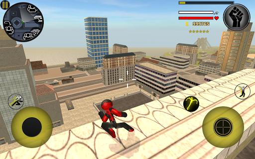 Stickman Rope Hero 2.6 screenshots 10