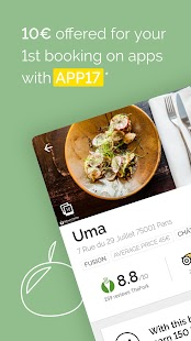 TheFork - Restaurants booking and special offers - náhled