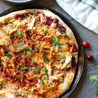 Cranberry Chipotle Barbeque Pizza Recipe