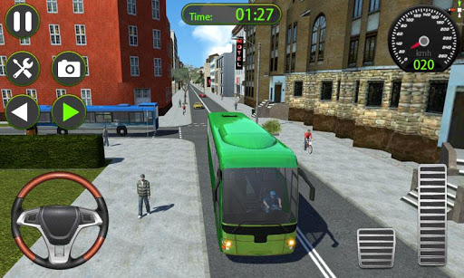 Bus Driver Simulator 2019 - Free Real Bus Game  captures d'écran 1