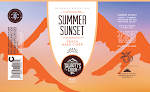 Talbott's Summer Sunset Peach Hard Cider